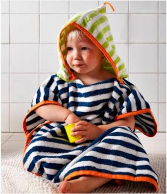 идея детского полотенца для ванной